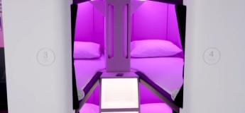 Yeah ! Air New Zealand proposera des cabines de couchage pour les classes économiques