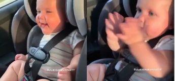 Une jolie vidéo de bébé dansant devient virale, mais les internautes s'inquiètent d'autre chose