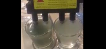 Le test à l'électrolyse de deux eaux minérales crée le buzz sur le net !