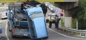 Découvrez les accidents de voitures les plus improbables et insolites en photos