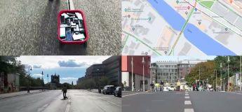 Il a créé un faux embouteillage sur Google Maps en se promenant sur une route avec 99 smartphones