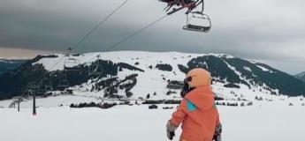 Cette petite fille de 4 ans est une snowboardeuse exceptionnelle !