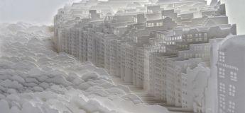 Découvrez ces superbes paysages en papier de cet artiste Japonais