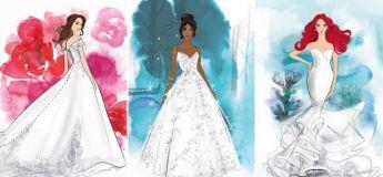 Disney lance une gamme de robes de mariée inspirées de vos princesses préférées