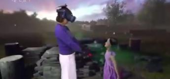 La réalité virtuelle réunit une maman avec sa petite fille décédée en 2016 et c'est bouleversant !