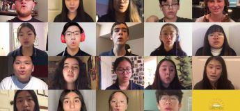 Ces élèves chantent magnifiquement «Somewhere Over The Rainbow» à distance après l'annulation du festival de chorale et la fermeture de leur école !