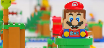 LEGO et Nintendo s'associe pour lancer le jeu de construction interactif :  LEGO® Super Mario™