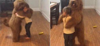Vidéo : cette petite fille dansant avec son chien va vous faire chaud au cœur