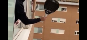 Covid-19 : les tennismen s'occupent comme ils le peuvent dans leurs appartements