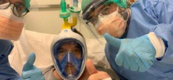 Un ingénieur Italien transforme un masque de plongée Décathlon en masque respirateur pour aider les hôpitaux