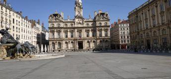 Les photos de Lyon, ville fantôme sans ses habitants durant le confinement