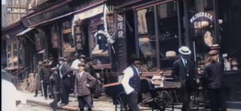 Une vidéo prise à New York en 1911 a été restaurée  en 4K et 60 FPS : le résultat est époustouflant !