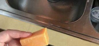 Confinement : Une femme confond le fromage avec du savon, se lave les mains pendant des jours
