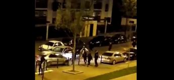 Montfermeil : Un conducteur fonce droit sur des jeunes : le choc est violent (vidéo)