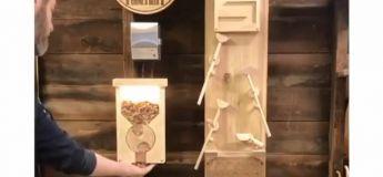 Vous aurez un bonus en décapsulant votre bouteille avec cette machine Rube Goldberg