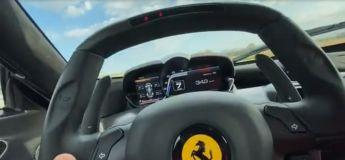 Cet homme profite du confinement pour rouler à une vitesse de 372 km/h à bord d'une Ferrari LaFerrari sur une autoroute allemande