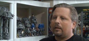 Cet homme veut être reconnu comme étant le détenteur du record du monde de la plus grande collection de Lego Star Wars avec presque 1.200 sets Lego Star Wars