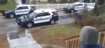 Boston : une équipe de policiers chante « joyeux anniversaire » à un petit garçon avec le mégaphone de leur voiture