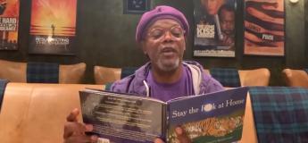 Samuel L. Jackson a une bonne idée pour forcer les gens à rester chez eux, en leur lisant une histoire