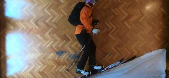 Le skieur Philippe Klein Herrero profite du confinement pour nous offrir la vidéo la plus créative et la plus rafraîchissante !