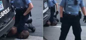 George Floyd, un homme noir arrêté par un policier blanc, meurt après avoir été écrasé au niveau du cou