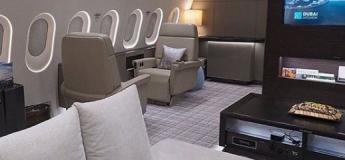 Ce Boeing 787 donne plus l'impression d'être dans une suite présidentielle et non dans un avion