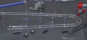 Comment réaliser un circuit de billes avec de simples outils ? Le guide détaillé en vidéo