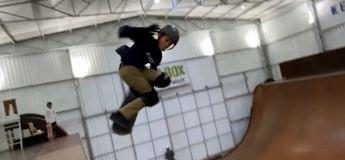 Un jeune skateur Brésilien de 11 ans est le premier à avoir réussi un tour à 1080 degrés sur une rampe verticale