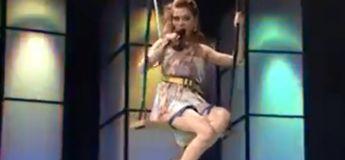 Vidéo insolite : elle voulait faire une superbe prestation scénique, mais cela tourne au fiasco car les organisateurs lui ont réservé une mauvaise surprise