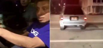 En essayant de fuir la police, ces deux hommes ivres heurtent une voiture après une fuite de… 20 mètres !