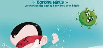 """Apprenez les gestes barrières aux enfants avec la chanson """"Corona Minus"""" d'Aldebert"""