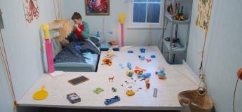 Un système très intelligent pour ranger les jouets en 10 secondes !