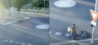 La virée en scooter de ces personnes ivres et sans casques se terminent devant un commissariat !