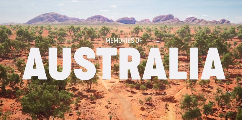 Une vidéo étonnante du paysage Australien réalisé avec le moteur Unreal Engine