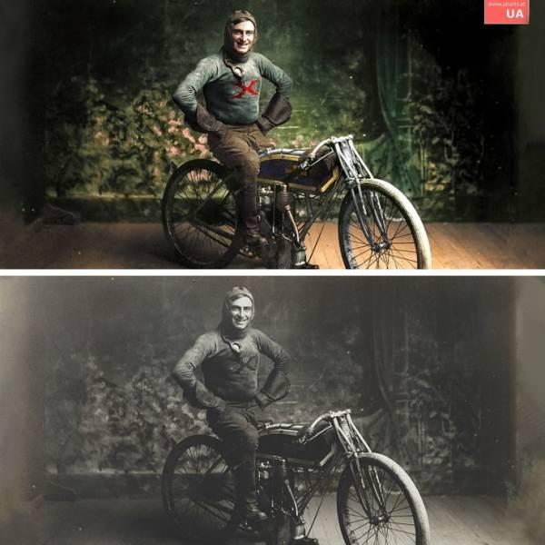 Un travail époustouflant : cet artiste passe 3000 heures à restaurer de vieilles photos en noir et blanc
