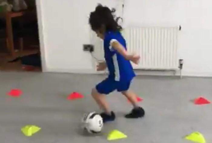 Ce garçon de 8 ans est un vrai prodige du foot, il pourrait être le futur Lionel Messi
