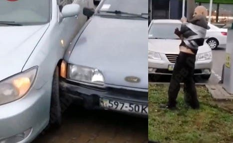 Un homme a été retrouvé attaché à un poteau avec un ruban adhésif pour éviter qu'il fuit