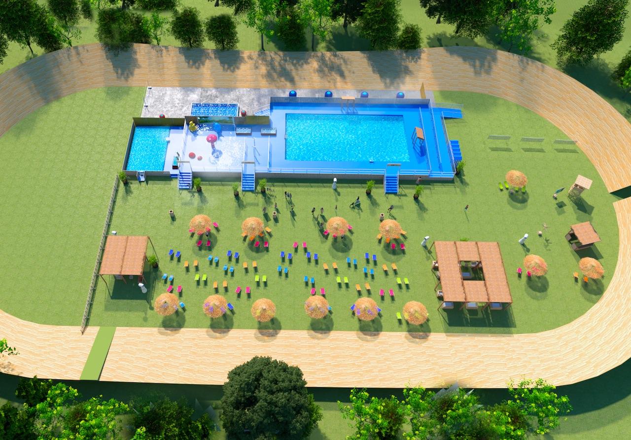 Le Parc de la Tête d'Or de Lyon s'offre une piscine cet été !