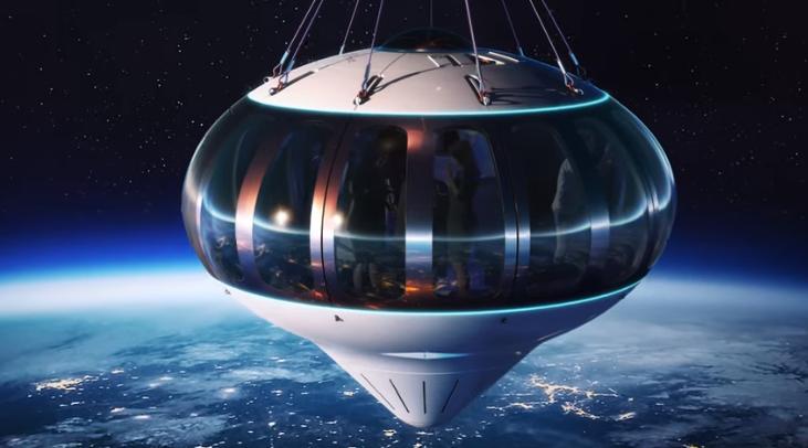 Bientôt un vol dans la stratosphère pour admirer la terre à bord d'un ballon
