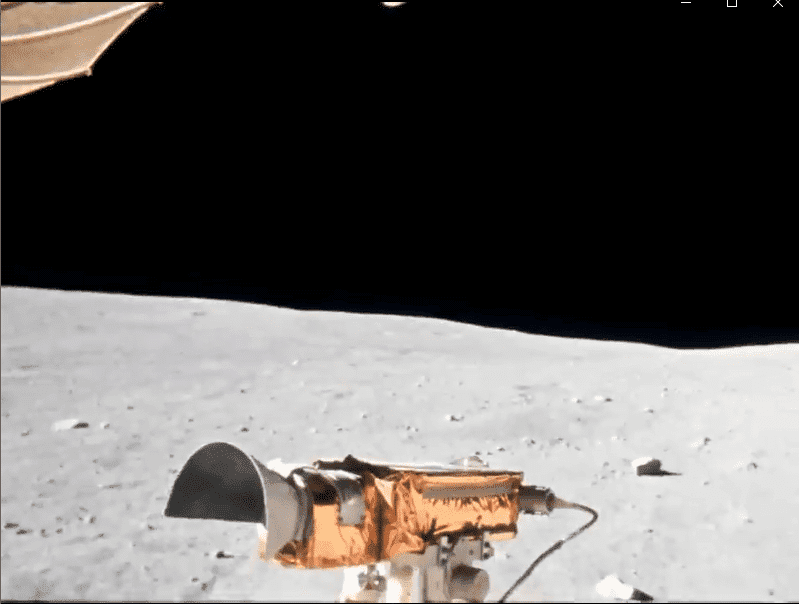 Les images de la Lune enregistrées par le Rover Apollo 16 renaissent en 4k 60FPS