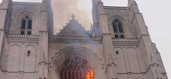 Le bénévole chargé de fermer la Cathédrale de Nantes relâché par les enquêteurs