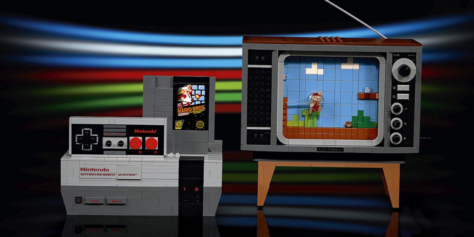 Lego sort un nouveau kit Lego Nintendo NES avec son téléviseur cathodique