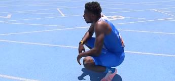 Noah Lyles a battu le record du 200 m d'Usain Bolt lors des Inspiration Games