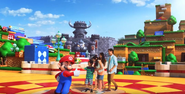 Une vidéo montre le fameux Super Nintendo World du parc d'Osaka