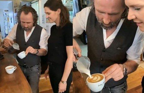 Comment présenter un cappuccino