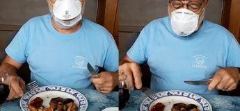 Voici le masque spécial restaurant qui permettrait de se protéger en mangeant