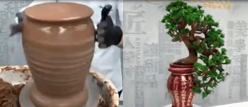 Une sculpture faite entièrement en chocolat