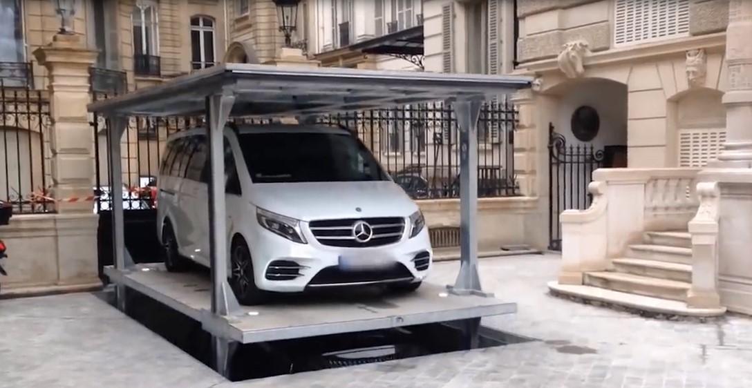 Un parking intelligent