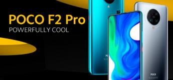Prix promo sur le Poco F2 Pro 128 Go 387,15 € au lieu de 460,53 €