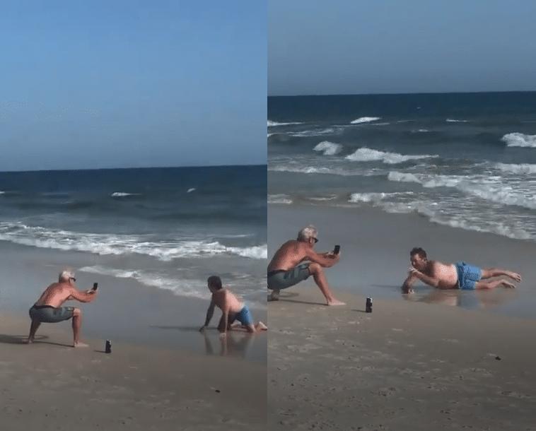 Ces hommes ont trouvé la formule qui marche pour draguer de jolies filles sur la plage cet été
